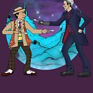 Of Spoons and Scotsmen #4 (Characters and Round Background) by InPrintComic