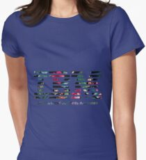 IBM - leaf Womens Fitted T-Shirt
