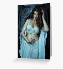 Vampire Bride I Greeting Card