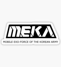 MEKA- Mobile Exo-Force of the Korean Army Sticker