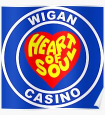 Northern Soul Wigan Casino heart of Soul Poster