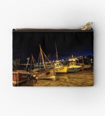 Broadstairs Harbour At Night Studio Pouch