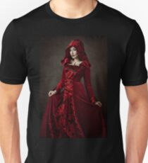 Red Woman III Unisex T-Shirt