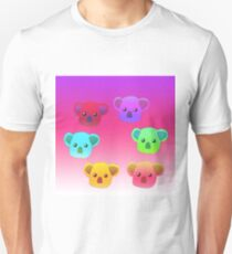 Winter Koalas - Pink/Purple T-Shirt