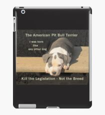 Unfair Breed Specific Legislation iPad Case/Skin