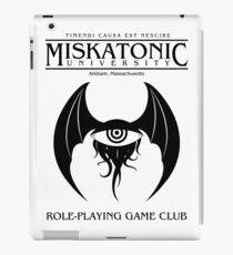 Miskatonic RPG Club iPad Case/Skin