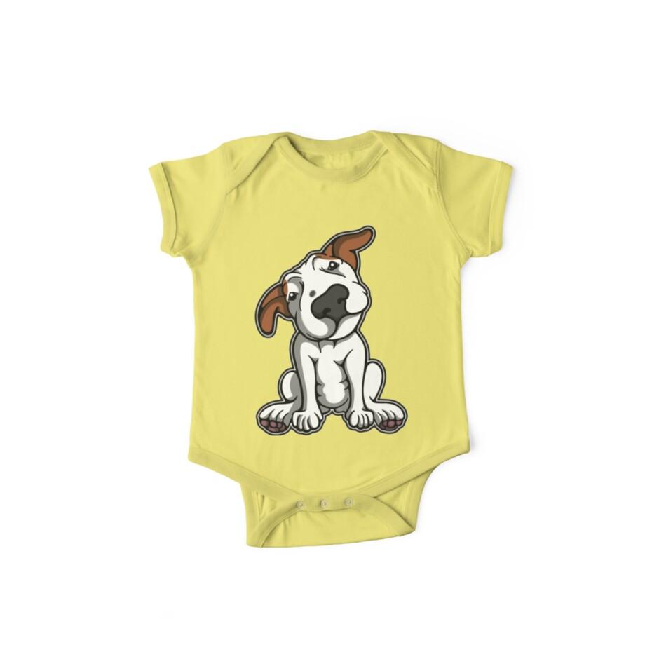Little Ginger Ears Bull Terrier  by Sookiesooker