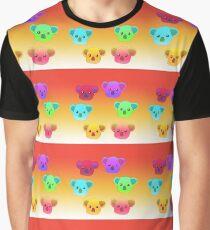 Winter Koalas - Red/Orange Graphic T-Shirt
