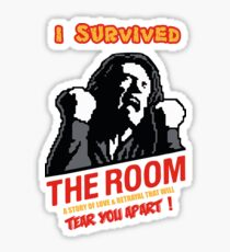I Survived The Room, worst movie ever Sticker