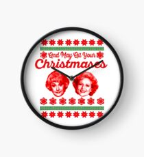 Golden Girls Christmas Clock
