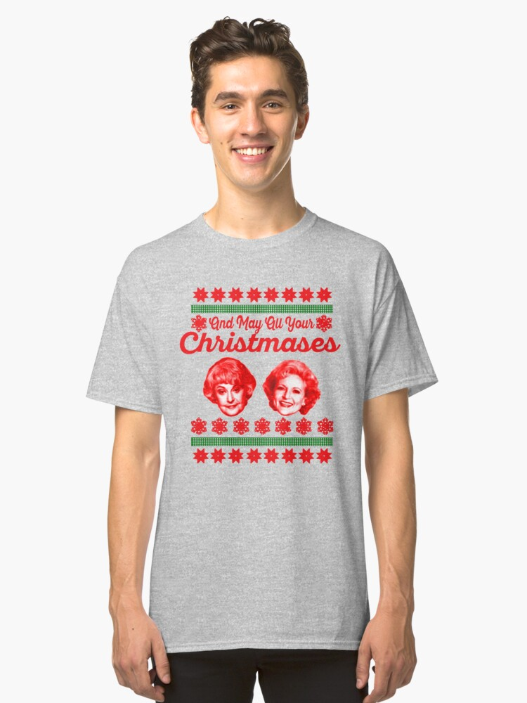 Golden Girls Christmas Classic T-Shirt Front
