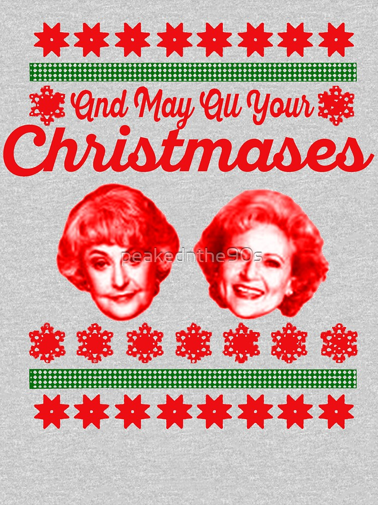 Golden Girls Christmas by peakednthe90s
