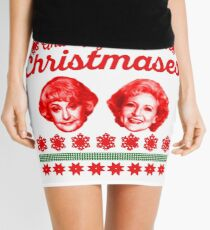 Minifalda Golden Girls Christmas