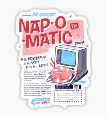Nap-O-Matic Sticker