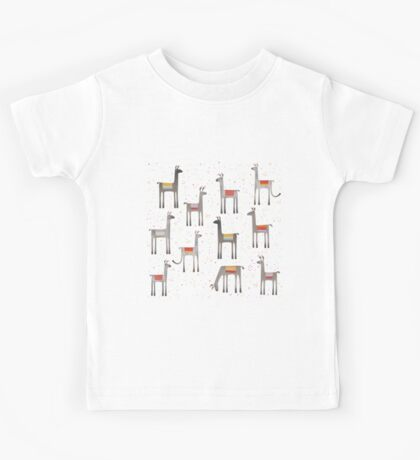 Llamas in the Meadow Kids Clothes