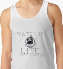 Water is Life: STAND WITH STANDING ROCK Men's Tank Top