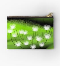 Loveliness of the floral designs	 Studio Pouch
