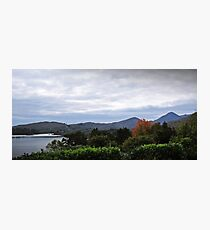 Cloudy Caha Mountains Photographic Print