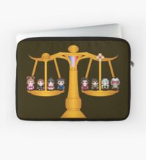 Both Sides Of The Law Laptop Sleeve