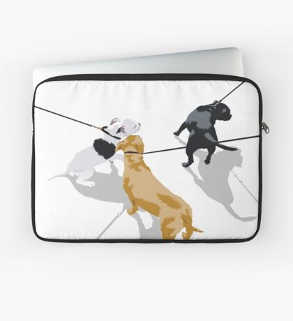 show some restraint Laptop Sleeve