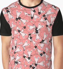 Mini flamingo pattern Graphic T-Shirt