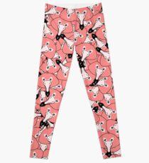 Mini flamingo pattern Leggings