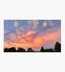 LG G5 Mamma Clouds  Photographic Print