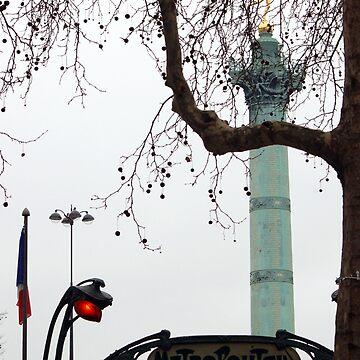 Place de la Bastille by MrPaulin
