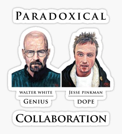 Paradoxical Collaboration Sticker