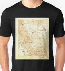 USGS TOPO Map California CA Pleasanton 298577 1906 62500 geo Unisex T-Shirt