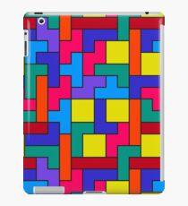 Tetris Blocks Pattern iPad Case/Skin