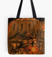Doom Cyberdemon 3 Tote Bag
