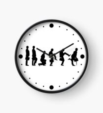 Ministry of Silly Walks T Shirt Clock