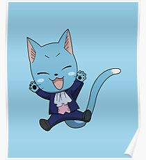 FAIRY TAIL: Suited & Booted Happy  Poster