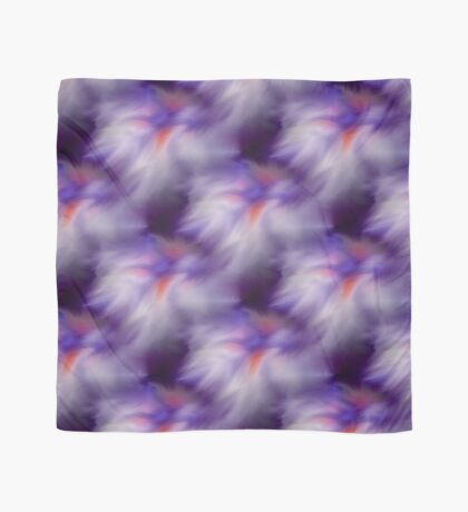 Blue Purple And White Abstract Colors Scarf