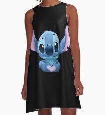 Stitch Heart A-Line Dress