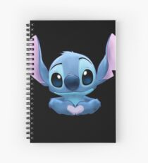 Stitch Heart Spiral Notebook