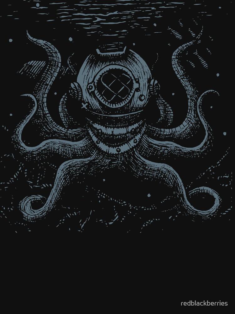 Octopus Diver de redblackberries