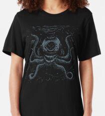 Octopus Taucher Slim Fit T-Shirt