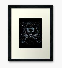Octopus Diver Framed Print