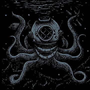 Octopus Diver by redblackberries
