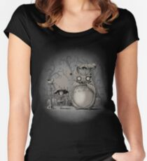 My Creepy Neighbor Women's Fitted Scoop T-Shirt