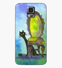 Cute Witch Cat Case/Skin for Samsung Galaxy
