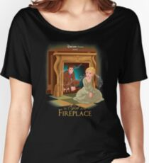The Girl In The Fireplace Women's Relaxed Fit T-Shirt