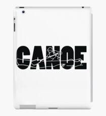 Kanu - Strichzeichnungen iPad-Hülle & Klebefolie