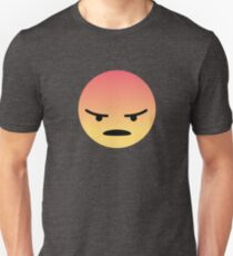 Facebook Angry Reaction Design Unisex T-Shirt
