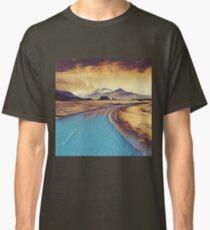 Abstract landscape, modern,elegant,contemporary art Classic T-Shirt