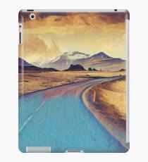 Abstract landscape, modern,elegant,contemporary art iPad Case/Skin