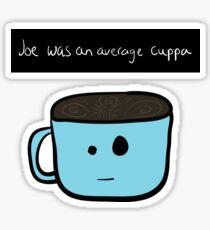 Average joe Sticker