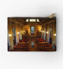 St Lawrence, Mereworth, panoramic Studio Pouch